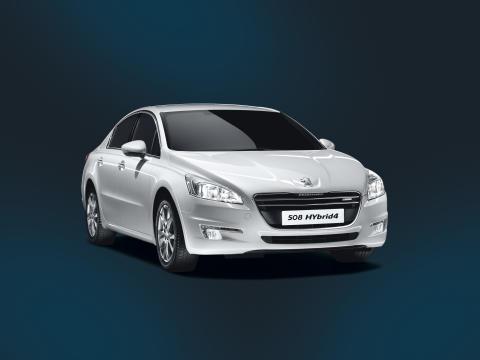 Peugeot lancerer endnu en dieselhybrid: 508 HYbrid4