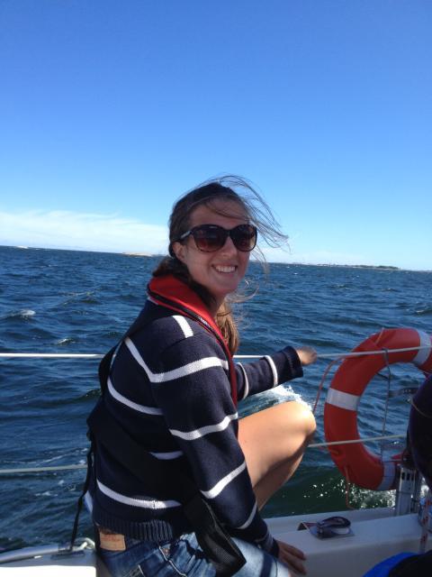 Båtproducenten som vill se fler tjejer bakom ratten!