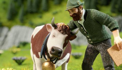 Milka v nové kampani poukazuje  na alpský původ mléka ve své čokoládě
