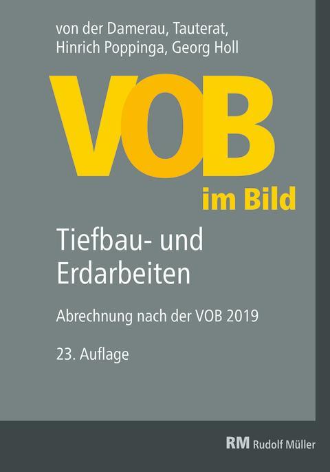 VOB im Bild – Tiefbau- und Erdarbeiten, 23. Auflage (2D/tif)
