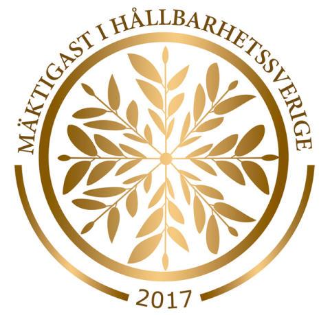Mitt Liv - en av de 101 mäktigaste i Hållbarhetssverige 2017