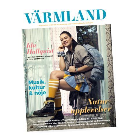 Magasin Värmland 2017 är nominerat till Publishingpriset i kategorin print