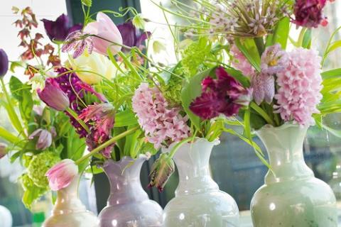 Blomsterlökstrender 2012 - Färgglada och fyllda av energi