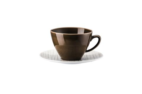 R_Mesh_Line Walnut_Combi cup and saucer