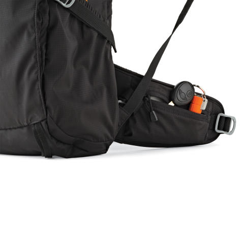 Lowepro Photo Sport II BP300 AW, midjerems-ficka detaljbild
