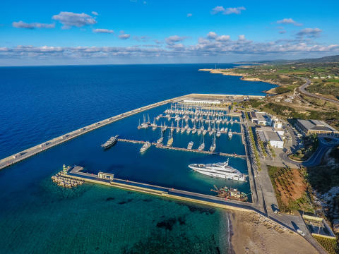 Hi-res image - Karpaz Gate Marina - Karpaz Gate Marina in North Cyprus was voted Runner-Up in the International Marina category of TYHA Towergate's Marina of the Year Awards