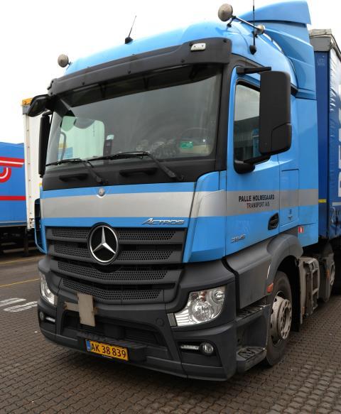 Mercedes-Benz Actros 2545 LS 6x2 - vinder af Driver's League
