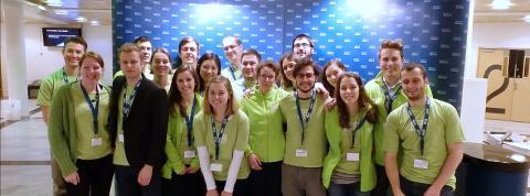 Volunteering for Arctic Frontiers 2016