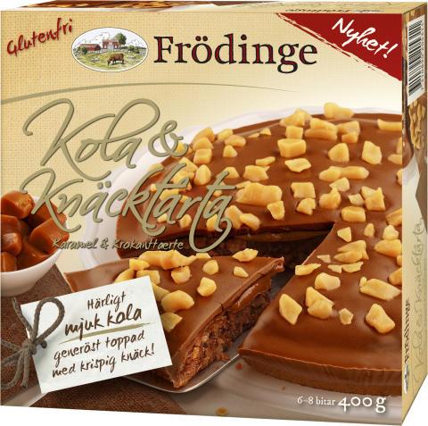 Frödinge Kola- & Knäcktårta