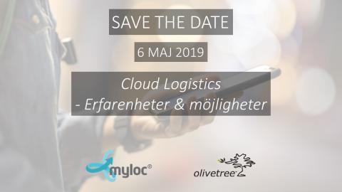 Inspirationsdag: Cloud Logistics - erfarenheter och möjligheter - 6 maj Stockholm