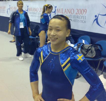 Ida Johnsson kanske i 24-final i Artistisk Gymnastik i Milano