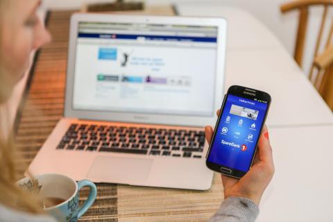 Mobilbank og nettbank