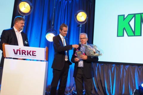 Jan Paul Bjørkøy er Årets retailleder.