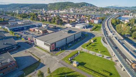 Aberdeen Asset Management kjøper handelseiendom i Drammen