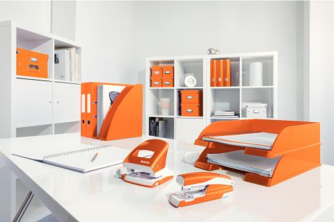 Leitz WOW range in orange