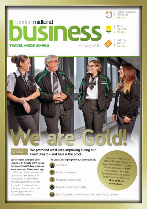 London Midland Business  February 2017