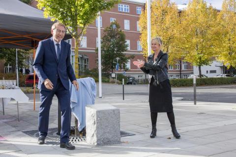 Jens Schollin och Marie-Louise Forsberg-Fransson