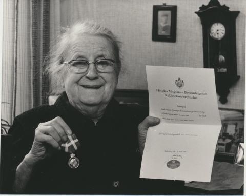 I en menneskealder var Tadre Mølle Mølle-Maries ét og alt. Foto: Museumskoncernen ROMU