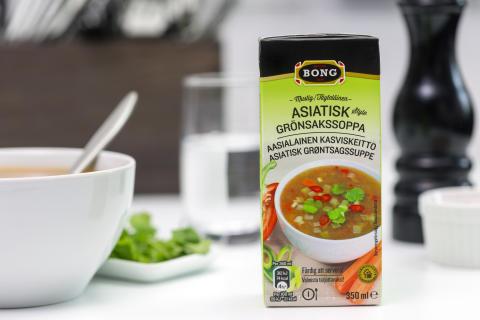 Bong Mustig Asiatisk style Grönsakssoppa