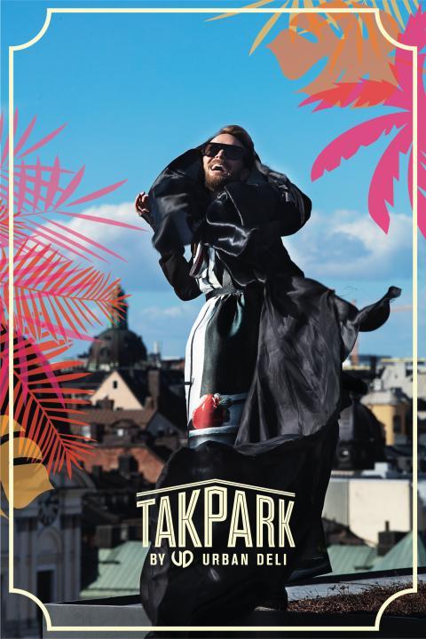Fredrik Robertsson på Takpark by Urban Deli