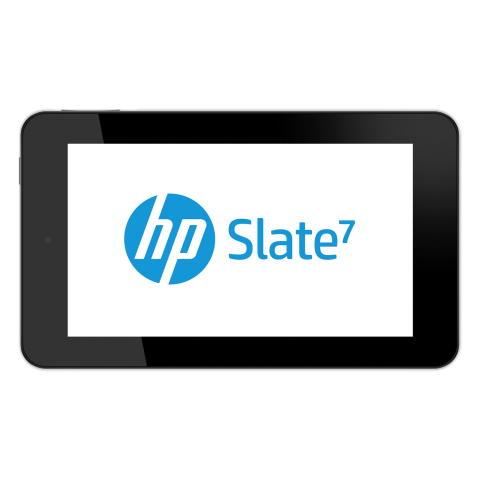 HP Slate 7 logo liggende