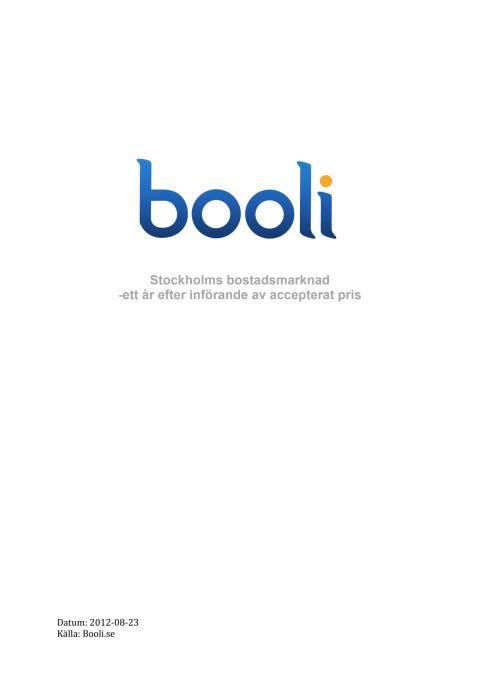 Accepterat pris rapport Booli.se