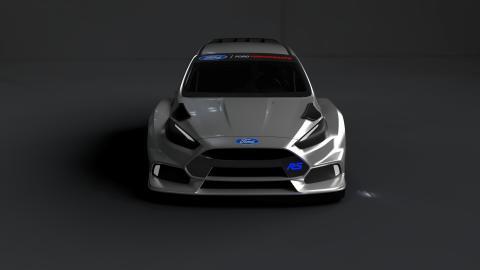 Norske Andreas Bakkerud skal kjøre  Ford Focus RS for Ford i rallycross-VM