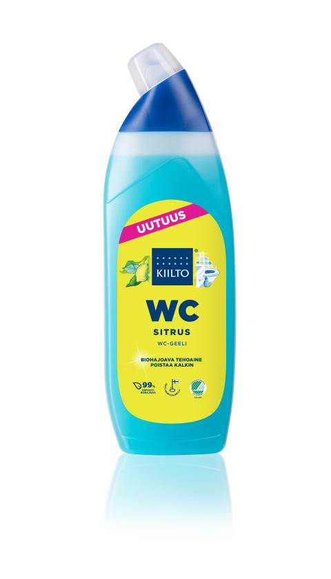 Kiilto WC-geeli Sitrus 850 ml