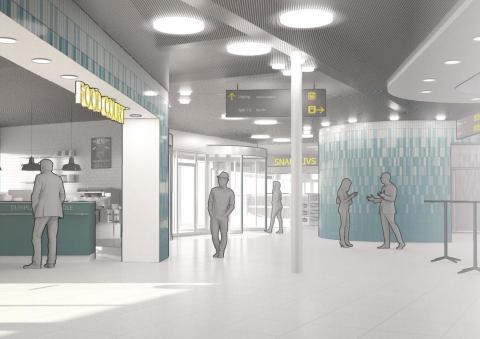 Ombyggnad av Flemingsbergs station