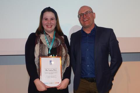 Prisen for årets Master innen vann og miljøteknikk utdelt
