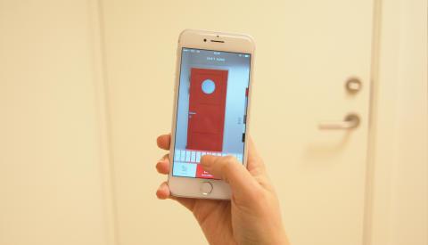 Find rette dør med ny, smart app