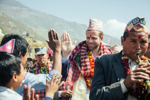 Utviklingsministeren åpnet FORUT-skole i Nepal