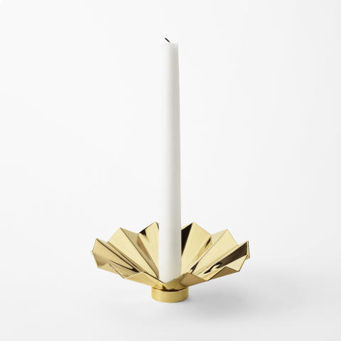 Svenskt_Tenn_Candle_Ring_Pleated_Brass_2