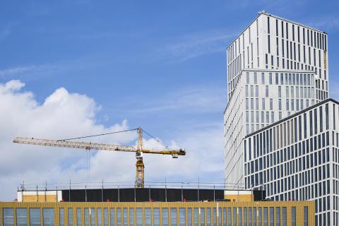 Försiktig tillväxt i Industrifaktas byggprognos