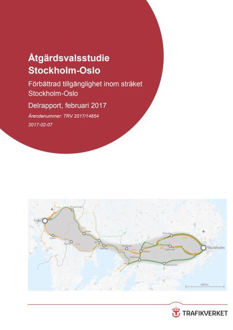 ÅVS Stockholm-Oslo delrapport 1