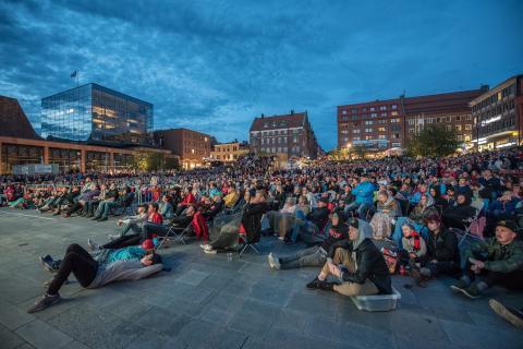 Östersund är en av tre finalister i tävlingen Årets Stadskärna 2019