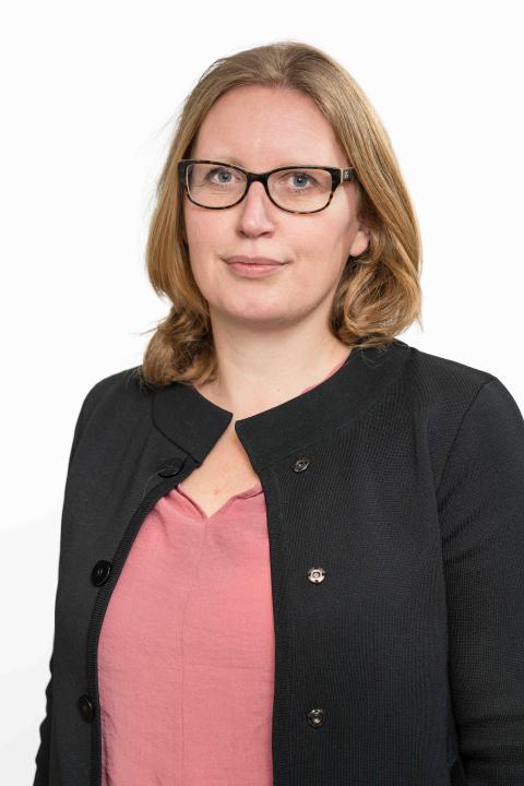 Sara Westberg, chef och ansvarig för Uppsalahems strategiska och långsiktiga utveckling