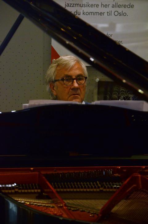 Helge Iberg og Tore Brunborg, Oslo jazzfestival 2018