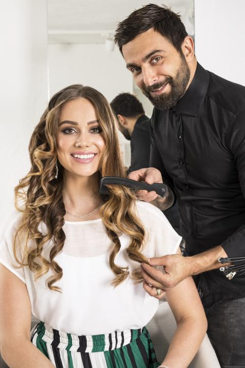 Professional by hairstylists Marre & Marcella