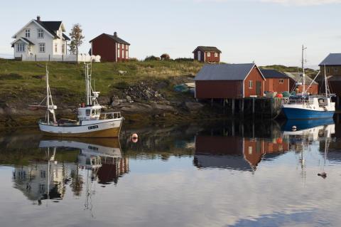 Helgelands vakre skjærgård