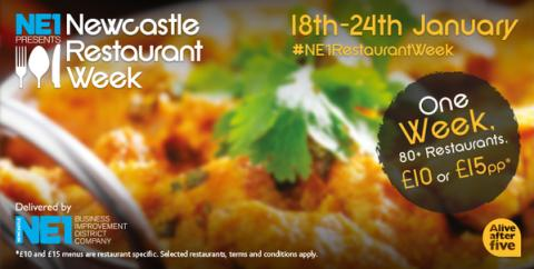 NE1 Newcastle Restaurant Week
