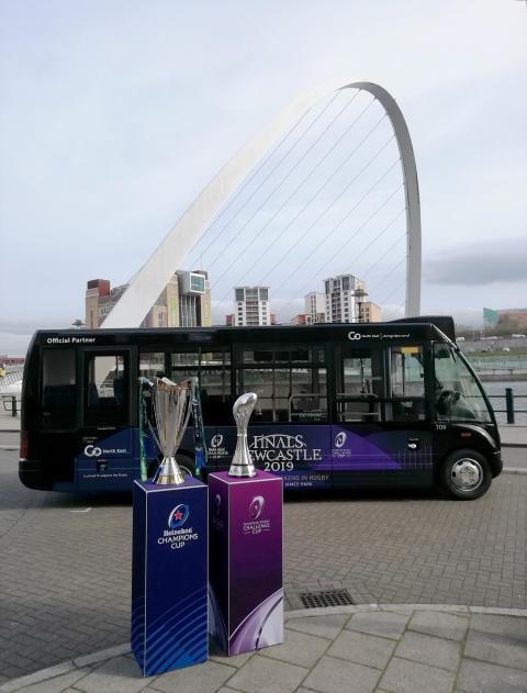 Trophy Tour Bus