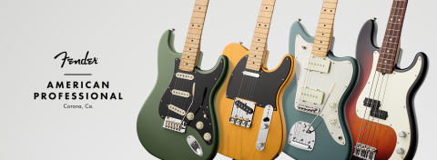 FENDER® ANNOUNCES NEW, FLAGSHIP  AMERICAN PROFESSIONAL SERIES DEBUTING JANUARY 2017