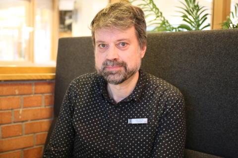 Johan Hjertén, språklärare på Katedralskolan