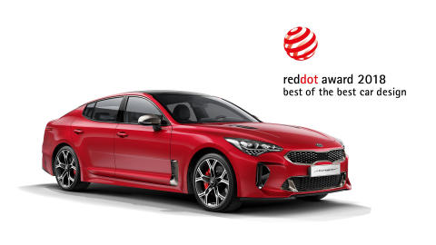 Nok en design-triumf for Kia​ i 2018 Red Dot Awards