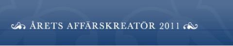 Årets affärskreatör 2011 - Handelshögskolan i Stockholm presenterar ny utmaning för potentiella studenter