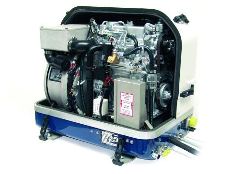 Hi-res image-  Fischer Panda UK - Fischer Panda UK has supplied a 13000 DC generator for Elton Moss's new 70ft Kingsley barge