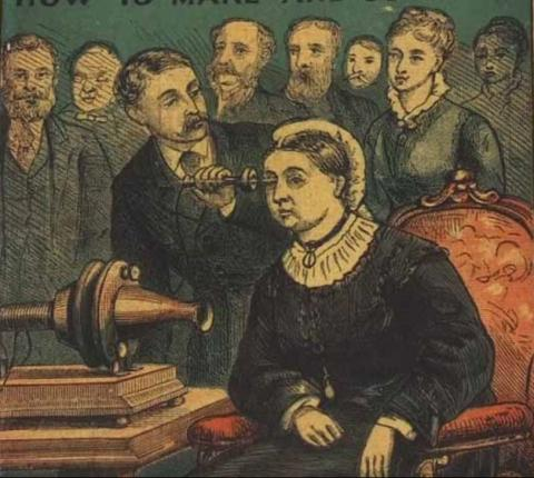 140 years ago on the Isle of Wight Queen Victoria got her first glimpse of a technology which would transform the world
