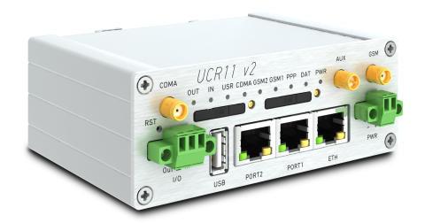 3G router i metall med dubbla 3G-nät