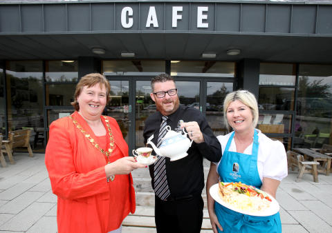 Get a bite of the action at the new Gobbins café!